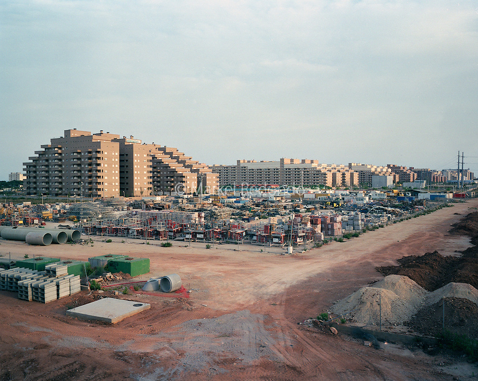 Marina d'orholiday city and Golf resort. 10.000 apartments, 5 hotels, a casino, indoor ice skating ring, 1.800 hectares for a Golf resort that hasn't  been built yet.