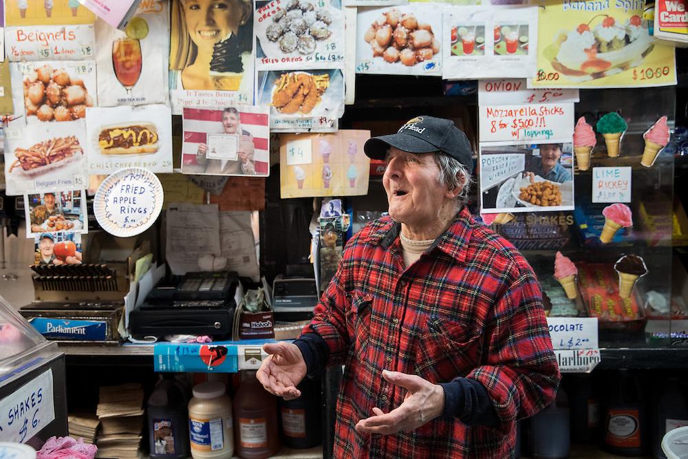 Ray Alvarez, Ray's Candy Store, East Village 2016