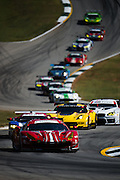 October 1, 2016: IMSA Petit Le Mans, #68 Alessandro Pier Guidi, Daniel Serra, Scuderia Corsa, Ferrari 488 GTE