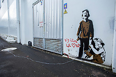 Tauranga-Street art believed to be by Banksy appear in city lane