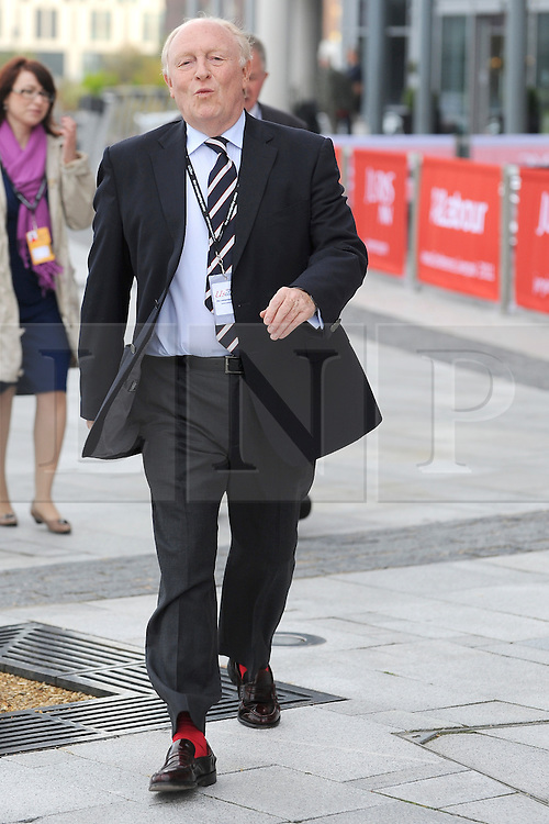 © Licensed to London News Pictures. 26/09/2011. LONDON, UK. Former Leader of the Labout Party Lord Neil Kinnock at The Labour Party Conference in Liverpool today (26/09/11). Photo credit:  Stephen Simpson/LNP