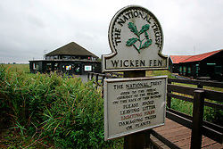 UK ENGLAND CAMBRIDGESHIRE WICKEN 7AUG06 - The Wicken Fen National Nature Reserve visitor centre, managed by the National Trust is one of Britain's oldest nature reserve dating back to the late 1800s...jre/Photo by Jiri Rezac..© Jiri Rezac 2006..Contact: +44 (0) 7050 110 417.Mobile:  +44 (0) 7801 337 683.Office:  +44 (0) 20 8968 9635..Email:   jiri@jirirezac.com.Web:    www.jirirezac.com..© All images Jiri Rezac 2006 - All rights reserved.