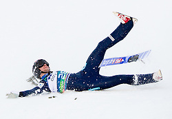 JACOBSEN Anders of Norway falling during the Flying Hill Individual Competition at 2nd day of FIS Ski Jumping World Cup Finals Planica 2013, on March 22, 2012, in Planica, Slovenia. (Photo by Vid Ponikvar / Sportida.com)