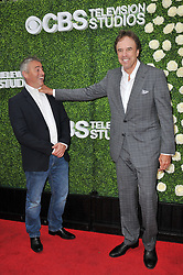 (L-R) Matt LeBlanc and Kevin Nealon together at the 2017 CBS Television Studios Summer Soiree TCA Party held at the CBS Studio Center – New York Street in Studio City, CA on Tuesday, August 1, 2017. (Photo By Sthanlee B. Mirador) *** Please Use Credit from Credit Field ***