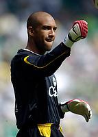 Photo: Jed Wee.<br /> Glasgow Celtic v Everton. Pre Season Friendly. 23/07/2006.<br /> <br /> Everton loan signing Tim Howard.