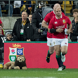 Rory Best (c) during game 8 of the British and Irish Lions 2017 Tour of New Zealand,The match between  Hurricanes and British and Irish Lions, Westpac Stadium, Wellington, Tuesday 27th June 2017<br /> (Photo by Kevin Booth Steve Haag Sports)<br /> <br /> Images for social media must have consent from Steve Haag