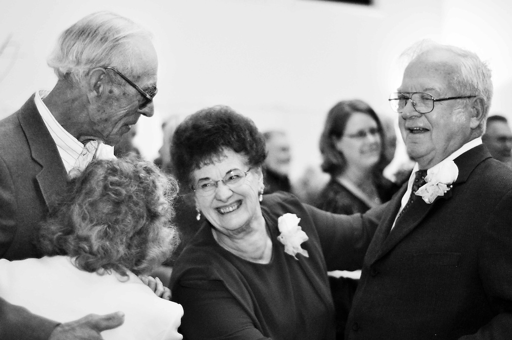 Grandparents on the dance floor at Abby & Matt's reception; White House Banquet Hall, Richland Center, WI