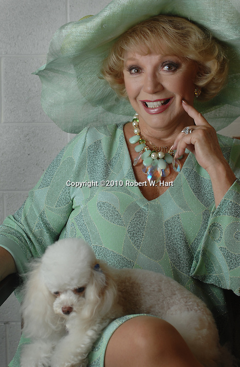 """Actress Ruta Lee will reprise her role as Miss Mona in the upcoming production of """"The Best Little Whorehous in Texas"""" at Casa Mañana Theater in Fort Worth, Texas. Photo taken on October 6, 2010. (Credit: Robert W. Hart)"""