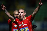 FOOTBALL - FRENCH CHAMPIONSHIP 2009/2010  - L1 - LE MANS UC v AS SAINT ETIENNE - 29/11/2009 - PHOTO ERIC BRETAGNON / DPPI - JOY ANTHONY LETALLEC (MUC)