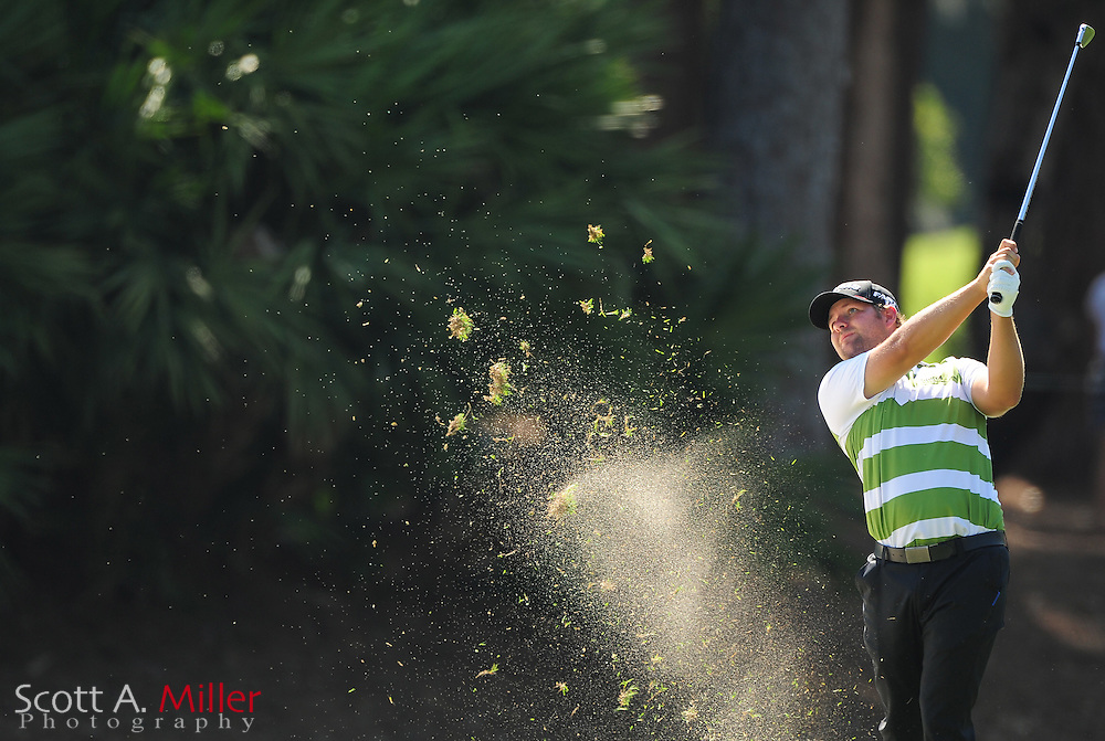 Ryan Moore during the second round of the Players Championship at the TPC Sawgrass on May 11, 2012 in Ponte Vedra, Fla. ..©2012 Scott A. Miller..