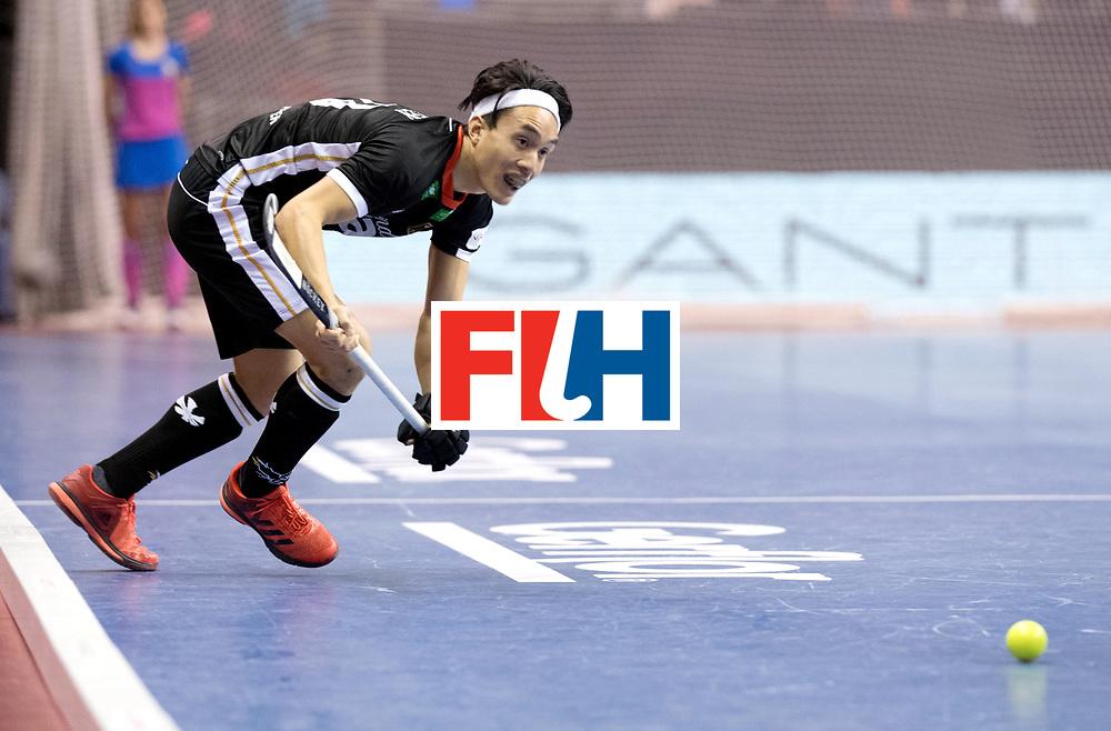 BERLIN - Indoor Hockey World Cup<br /> Semi-final 1: Germany - Iran<br /> foto: Dan Nguyen.<br /> WORLDSPORTPICS COPYRIGHT FRANK UIJLENBROEK