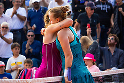 May 27, 2019 - Paris, France - Anna BLINKOVA (RUS) et Julia GLUSHKO  (Credit Image: © Panoramic via ZUMA Press)