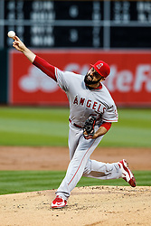 OAKLAND, CA - JUNE 17:  Matt Shoemaker #52 of the Los Angeles Angels of Anaheim pitches against the Oakland Athletics during the first inning at the Oakland Coliseum on June 17, 2016 in Oakland, California. (Photo by Jason O. Watson/Getty Images) *** Local Caption *** Matt Shoemaker