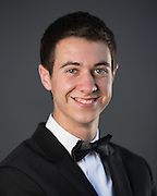 John Serena poses for his senior portrait at his home in San Jose, California, on April 26, 2013. (Stan Olszewski/SOSKIphoto)