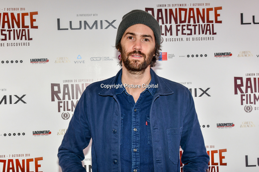 Jim Sturgess is an English actor and singer-songwriter attend 'Souls of Totality' film at Raindance Film Festival 2018, London, UK. 30 September 2018.