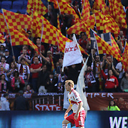 Dax McCarty, New York Red Bulls, in action during the New York Red Bulls V Philadelphia Union, Major League Soccer regular season match at Red Bull Arena, Harrison, New Jersey. USA. 30th March 2013. Photo Tim Clayton