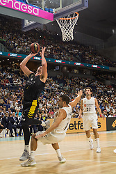 September 30, 2018 - Madrid, Madrid, Spain - Colton Iverson during Real Madrid victory over Iberostar Tenerife (88 - 73) in Liga Endesa regular season game (day 1) celebrated in Madrid at Wizink Center. September 30th 2018. (Credit Image: © Juan Carlos GarcíA Mate/Pacific Press via ZUMA Wire)