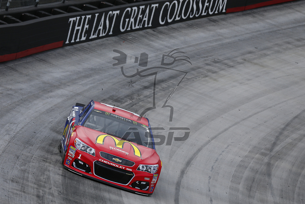 August 18, 2017 - Bristol, Tennessee, USA: Jamie McMurray (1) takes to the track to practice for the Bass Pro Shops NRA Night Race at Bristol Motor Speedway in Bristol, Tennessee.