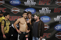 October 23, 2009: UFC 104 Lyoto Machida vs Mauricio Rua Weighin