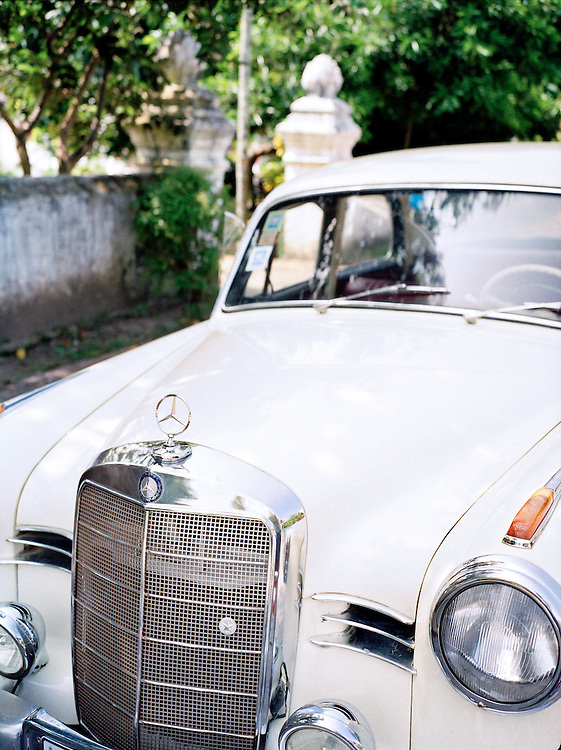 Vintage Mercedes-Benz owned by 3 Nagas Hotel.