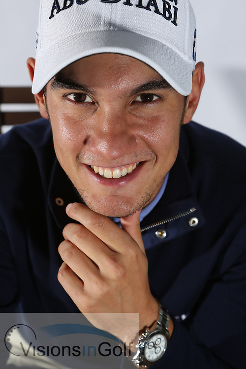 Matteo Manassero<br /> Portrait<br /> 2013<br /> <br /> Golf Pictures Credit by: Mark Newcombe / visionsingolf.com