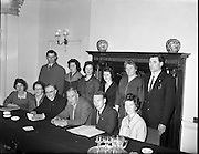 Kerrymans Association annual meeting and election of new committee.<br /> 17.02.1961