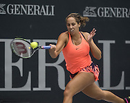 Madison Keys (USA) on Day Three of the WTA Generali Ladies Linz Open at TipsArena, Linz<br /> Picture by EXPA Pictures/Focus Images Ltd 07814482222<br /> 12/10/2016<br /> *** UK & IRELAND ONLY ***<br /> <br /> EXPA-REI-161012-5016.jpg
