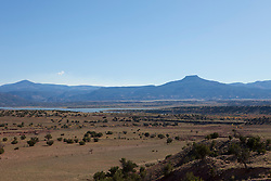 Abiquiu Lake and The Pedernal in New Mexico