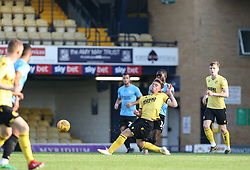 Ben Thompson of Millwall tackles Dru Yearwood of Southend United - Mandatory by-line: Arron Gent/JMP - 24/07/2019 - FOOTBALL - Roots Hall - Southend-on-Sea, England - Southend United v Millwall - pre season friendly
