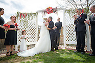 Lisa & Donovan's Backyard Wedding