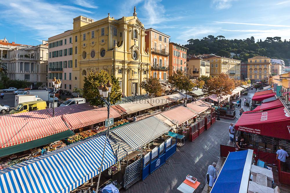 Jour de marché sur le cours Saleya // Market at cours Saleya