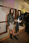 CHLOE PRIDDAM AND EMILY BYRON, Gas new concept Flagship store opening. Duke of York Sq. London. 9 May 2007.  -DO NOT ARCHIVE-© Copyright Photograph by Dafydd Jones. 248 Clapham Rd. London SW9 0PZ. Tel 0207 820 0771. www.dafjones.com.