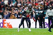 Houston Texans Wide Receiver DeAndre Hopkins (10) in action during the International Series match between Jacksonville Jaguars and Houston Texans at Wembley Stadium, London, England on 3 November 2019.