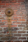 Earthquake bolt or gib plate on a old building Charleston, SC.
