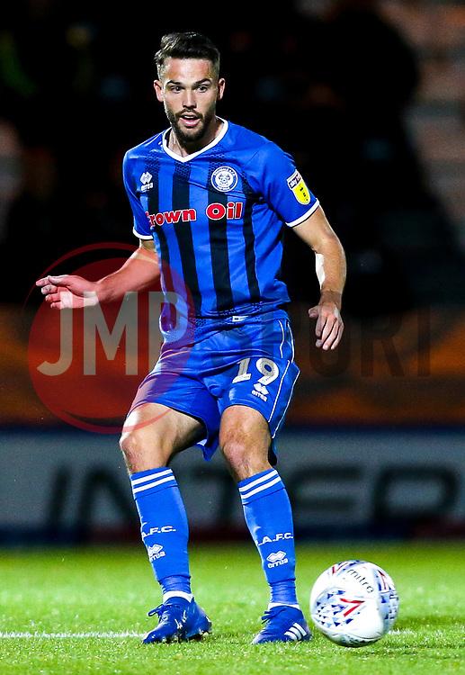 Bradden Inman of Rochdale - Mandatory by-line: Robbie Stephenson/JMP - 02/10/2018 - FOOTBALL - Crown Oil Arena - Rochdale, England - Rochdale v Bristol Rovers - Sky Bet League One