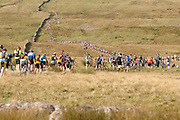 The Three Peaks Cyclocross race in north Yorkshire is considered the toughest of its kind in the world and yet entries are full within hours of opening. The race is 61km (38 miles)long and takes in the peaks of Ingleborough (723m), Whernside (736m) and Pen-Y-Ghent (694m) for a total 1524m (5000ft) of climbing.