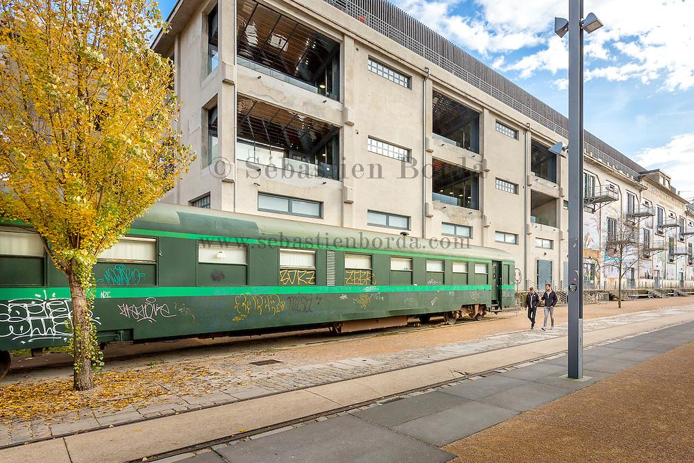 La Sucrière du quartier Confluence // La Sucrière, modern art and exhibition building