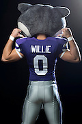 DALLAS, TX - JULY 22:  Kansas State mascot Willie the Wildcat poses for a portrait during the Big 12 Media Day on July 22, 2014 at the Omni Hotel in Dallas, Texas.  (Photo by Cooper Neill/Getty Images) *** Local Caption *** Willie the Wildcat