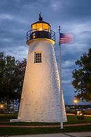 Concord Point Lighthouse, Harve de Grace, Maryland.