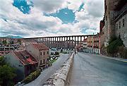 Spanje, Segovia, 28-5-2007Het Romeinse aquaduct is een van de best bewaarde van Europa.Foto: Flip Franssen/Hollandse Hoogte