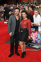Darren Bennett; Lilia Kopylova The Inbetweeners Movie world premiere, Vue Cinema, Leicester Square, London, UK, 16 August 2011:  Contact: Rich@Piqtured.com +44(0)7941 079620 (Picture by Richard Goldschmidt)