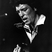 Bluesman John Hammond at Sanders Theatre, Cambridge, MA 1982