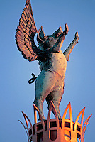 Flying Pig in Sawyer Point of Downtown Cincinnati
