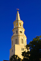St. Michael's Episcopal Church in the historic district of Charleston, South Carolina