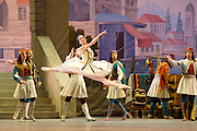 Le Corsaire <br /> by Alexei Ratmansky of Petipa <br /> Bolshoi Ballet <br /> at The Royal Opera House, Covent House, London, Great Britain <br /> 11th August 2016 <br /> Rehearsal<br /> <br /> <br /> <br /> Yulia Stepanova as Medora<br /> <br /> <br /> <br /> Photograph by Elliott Franks <br /> Image licensed to Elliott Franks Photography Services