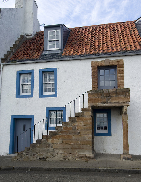 St. Monans, small village on the coast of Fife, Scotland<br />