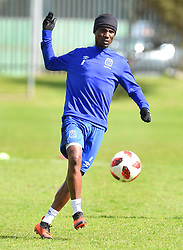 Cape Town-180823- Cape Town City player  Teko Modise at training preparing for their up comingMTN 8 semi-final against Sundowns at Cape Town Stadum.Photographer :Phando Jikelo/African News Agency/ANA