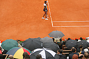 Roland Garros. Paris, France. May 26th 2008..Venus WILLIAMS against Tzipora OBZILER. ...