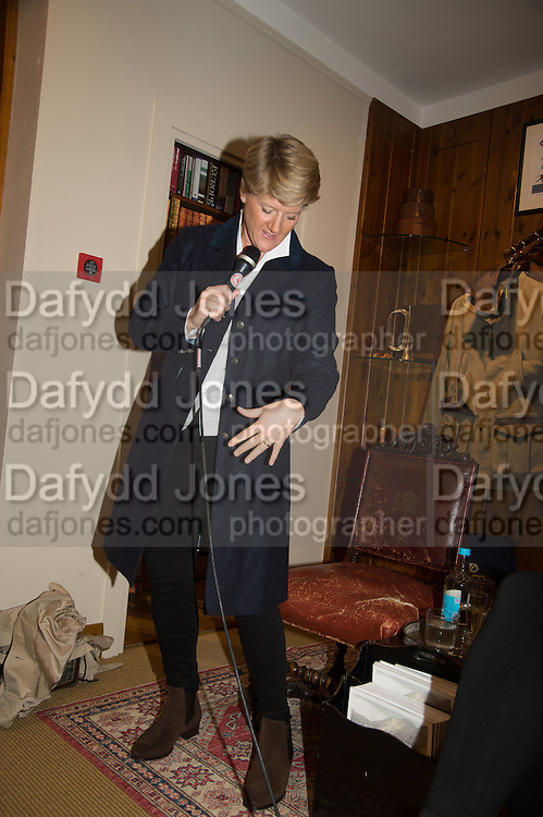CLARE BALDING, Tatler and Dubarry host an evening with Clare Balding, Dubarry of Ireland, 34 Duke of York's Sq. London. 13 October 2016.