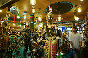 At the Chatuchak Weekend-Market. Thai style statues.